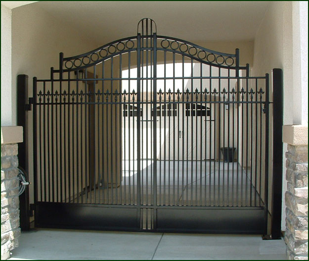 Wrought Iron Driveway Gates Elk Grove