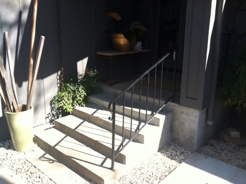 Wrought Iron Handrail Iron Hand Railing Stockton
